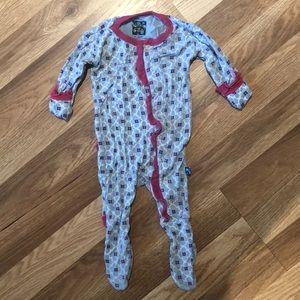 Kickee pants sleeper girls 0-3 months